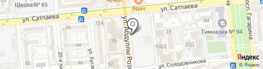 АСП, ТОО на карте Алматы