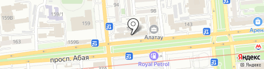 Билетная касса на карте Алматы