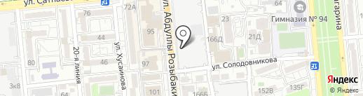 Колибри Эля на карте Алматы