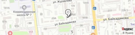 МегаТехТранс на карте Алматы
