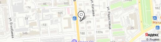 Анаэль на карте Алматы