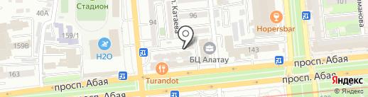 ЭсСиЭй Хайджин Продактс Раша на карте Алматы