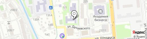 Специальная (коррекционная) школа-интернат №1 для детей с нарушением слуха на карте Алматы