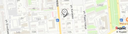 Пивград на карте Алматы