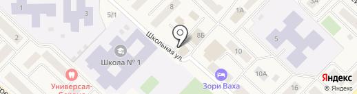 Центрум на карте Излучинска