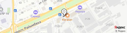 КазСтройМетКом на карте Алматы
