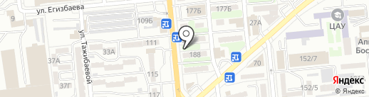 Вита, ТОО на карте Алматы