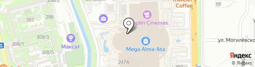 ЭПЛ на карте Алматы