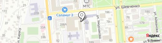 Ultrawood на карте Алматы