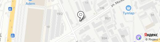 Kazcentreelectroprovod на карте Алматы