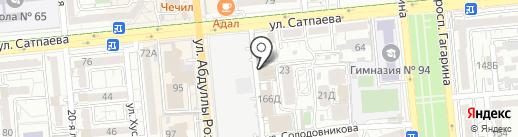 ABC на карте Алматы