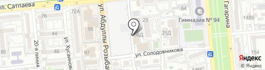 Master Start на карте Алматы