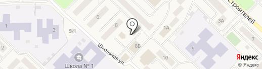 Крокус на карте Излучинска