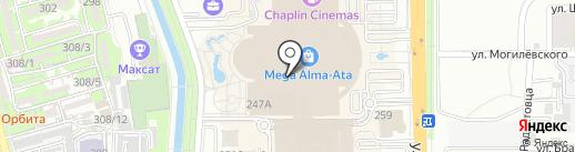 GAP на карте Алматы