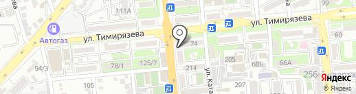 Нотариус Омарова Ж.К. на карте Алматы