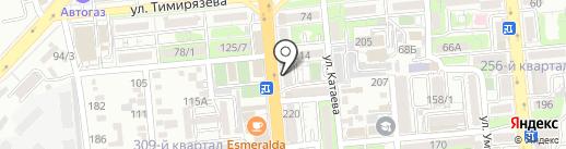 Айя на карте Алматы
