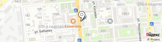 Мастерская по ремонту одежды на карте Алматы