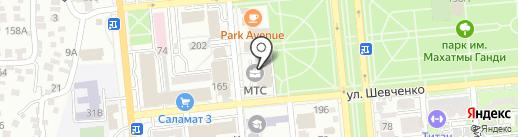 MyChina на карте Алматы