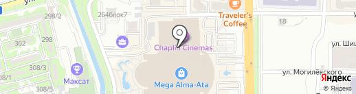 Банкомат, Сбербанк, ДБ АО на карте Алматы