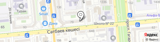 Медия на карте Алматы