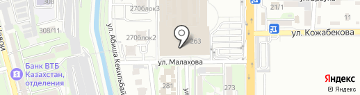 KOREAN HOUSE на карте Алматы