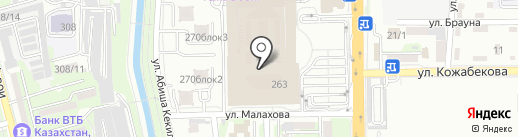 Kcell Store на карте Алматы