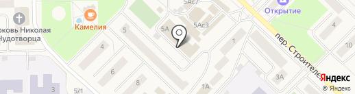 СМС на карте Излучинска