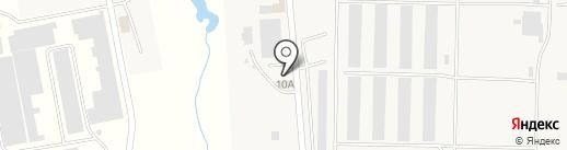 КОНТРАКТ, ТОО на карте КазЦика