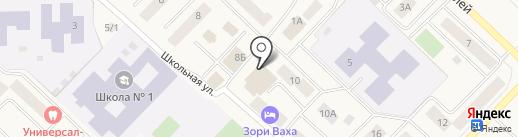 Центральная районная детская библиотека на карте Излучинска