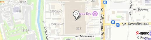 Levi`s на карте Алматы