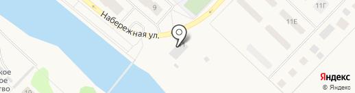 Излучинский пивоваренный завод на карте Излучинска