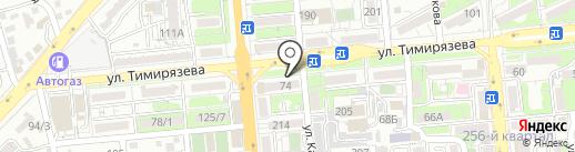 Гулинура на карте Алматы