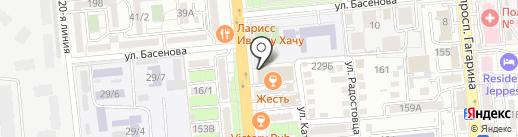 Аль-Минари на карте Алматы