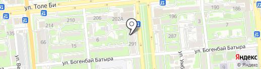 Queen на карте Алматы