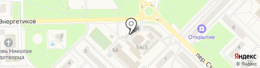 Связной на карте Излучинска