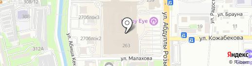 Crusber на карте Алматы
