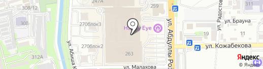 Rina Scimento на карте Алматы