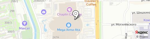 Tommy Hilfiger на карте Алматы