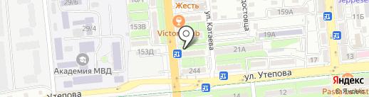 TOYOTA, SUZUKI, NISSAN на карте Алматы