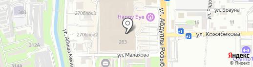 KIMEX на карте Алматы