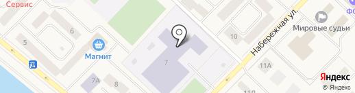 Центральная библиотека Нижневартовского района на карте Излучинска