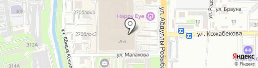 Milky Moon`s на карте Алматы