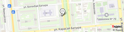 LZ на карте Алматы