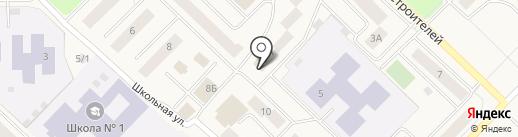 Скорая медицинская помощь на карте Излучинска
