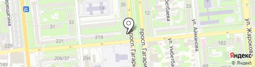 Домашняя кухня на карте Алматы