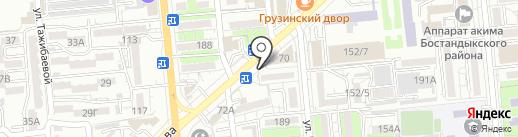 Эхо на карте Алматы