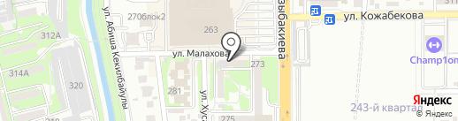 СКТБ Гранит, ТОО на карте Алматы