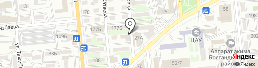 Unagi на карте Алматы