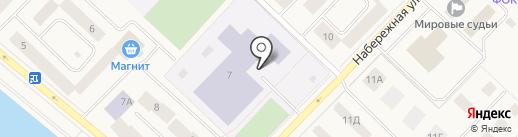 Межпоселенческая библиотека Нижневартовского района, МАУ на карте Излучинска