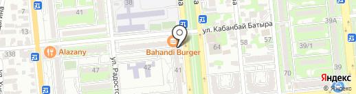 Почтовое отделение связи №9 на карте Алматы